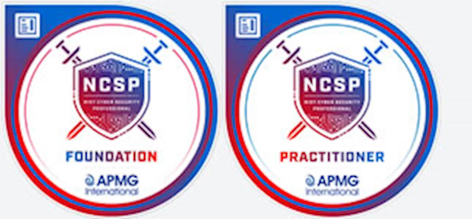 NCSF Foundation and Practioner Certification logos